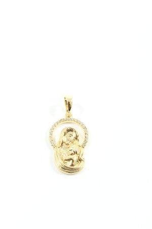 Xuping Medalik złoto Elegancki