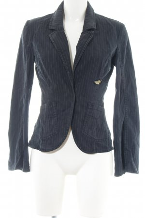 XX BY MEXX Kurz-Blazer blau Streifenmuster Business-Look