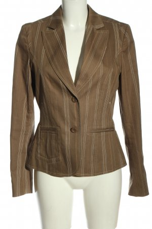 XX BY MEXX Short Blazer brown striped pattern casual look