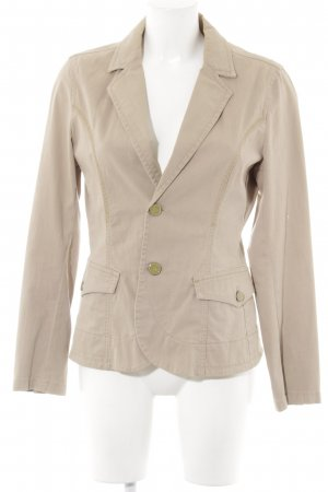 XX BY MEXX Long-Blazer goldfarben-beige Business-Look