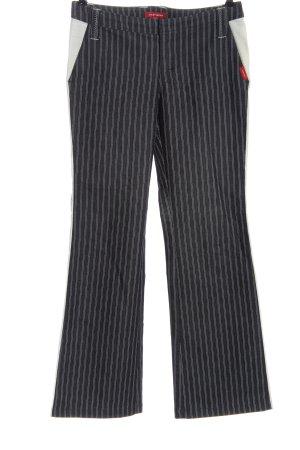 XX BY MEXX Dzwony czarny-biały Wzór w paski W stylu casual