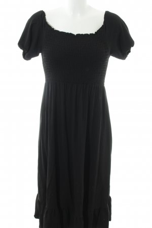 XX BY MEXX schulterfreies Kleid schwarz Casual-Look