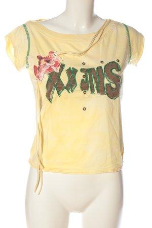 XX BY MEXX T-shirt lettrage imprimé style décontracté