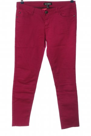 xxi Tube Jeans red casual look