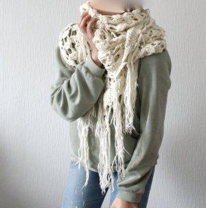 XXL Crochet Häkel Boho Hippie Schal