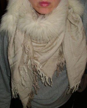 Gucci Mantilla crema-blanco puro Lana