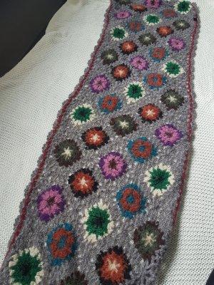 handmade Bufanda de ganchillo gris