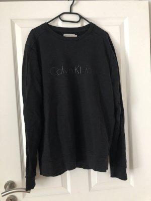 Calvin Klein Długi sweter czarny