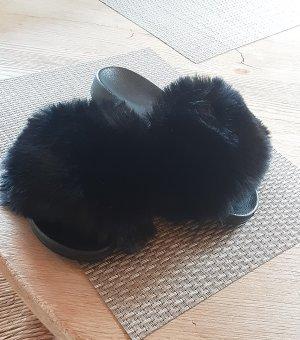 Sloffen zwart