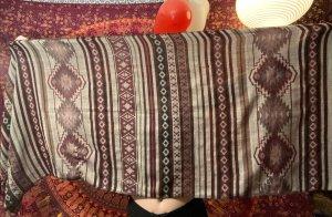H&M Bufanda de ganchillo multicolor