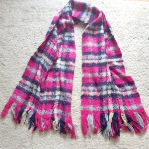 Monki Fringed Scarf multicolored