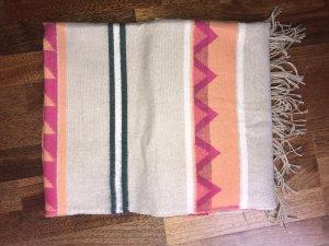H&M Divided Sjaal met franjes veelkleurig