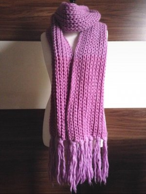 Esprit Knitted Scarf pink-mauve