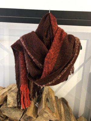 Mango Bufanda de lana multicolor
