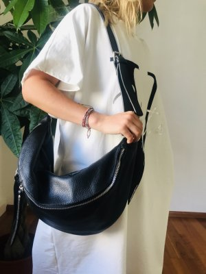 Börse in Pelle Crossbody bag black leather