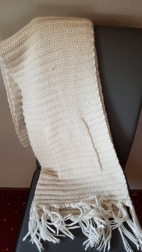 Mexx Knitted Scarf white