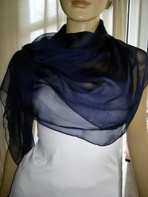 XXL Tuch aus Indien- 1 m x 1 m-dunkelblau-neu