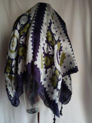 Shakchic Sciarpa di seta multicolore