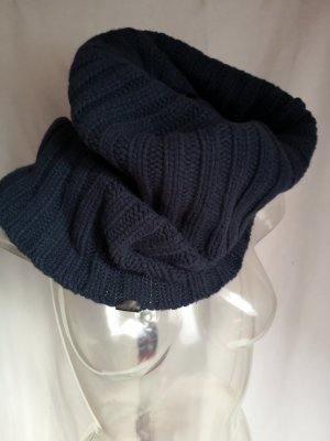 Marc O'Polo Tube Scarf blue-dark blue