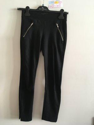 XXS Zara leggins silber schwarz