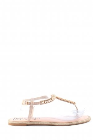 Xyxyx Dianette Sandals white abstract pattern casual look