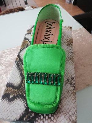 Xyxyx Zapatos formales sin cordones verde
