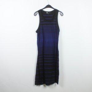 Y-3 for Adidas Kleid Gr. M schwarz blau gestreift (19/05/146)
