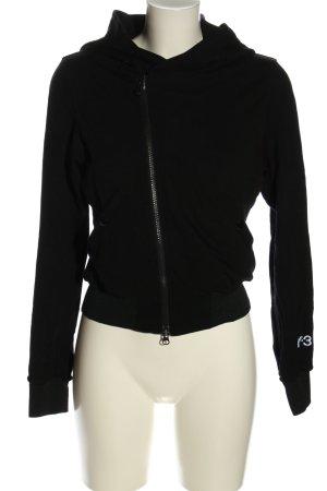 Y-3 Kapuzensweatshirt schwarz Casual-Look