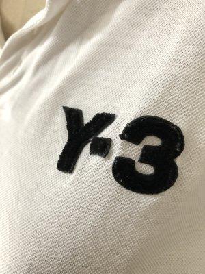 Y-3 Top Polo bianco Cotone