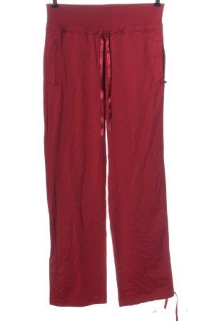 Y-3 Pantalon de jogging rouge style décontracté