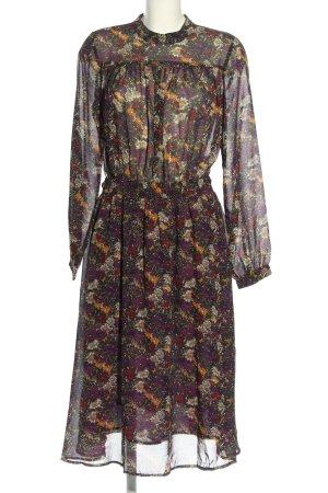 y.a.s Midi-jurk volledige print casual uitstraling