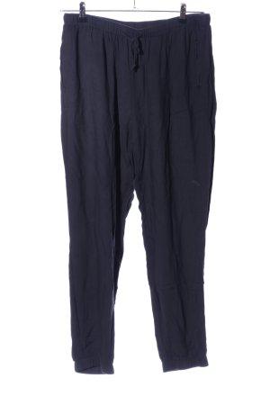 y.a.s Pantalone jersey blu stile casual