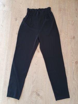 Pantalone peg-top nero