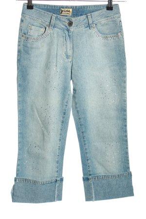 Y.O.U. Jeans a 3/4 blu stile casual