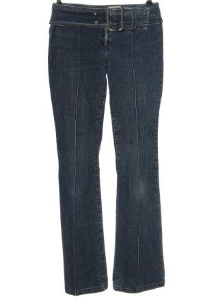 Y.O.U. Jeans flare bleu style décontracté