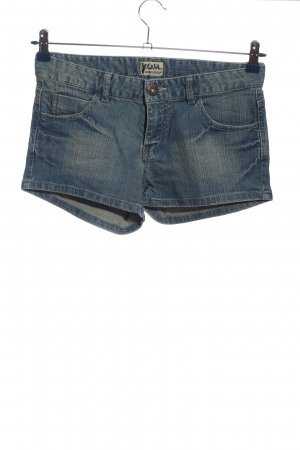 Y.O.U. Hot Pants blau Casual-Look
