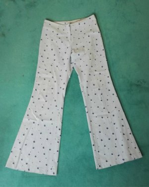 Y15 Jeans Stoff Hose Lochmuster Clockhouse Gr.38