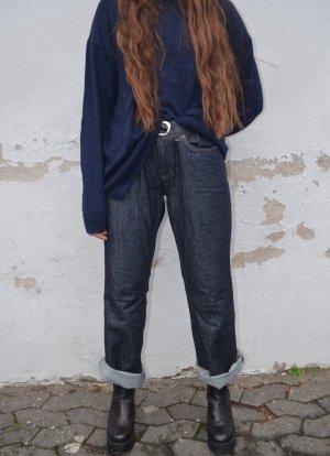 Vintage Baggy Jeans dark blue