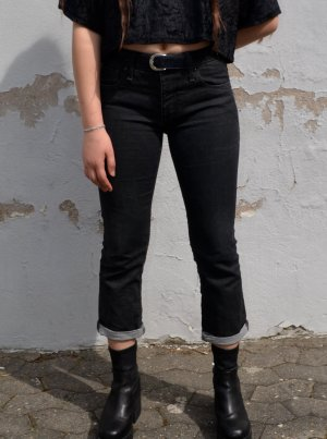 Vintage Low Rise Jeans black-anthracite
