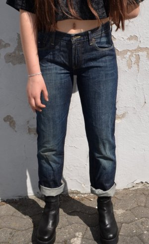 Tommy Hilfiger Workowate jeansy ciemnoniebieski-antracyt