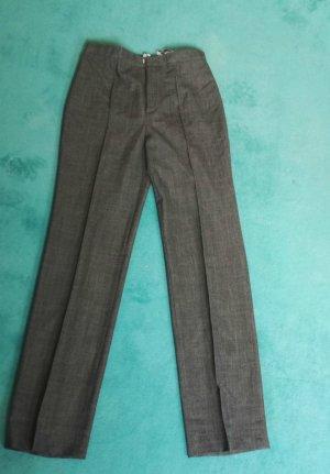 Tuzzi Pantalone di lana marrone scuro