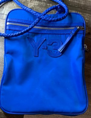 Adidas Y3 Crossbody bag blue-silver-colored