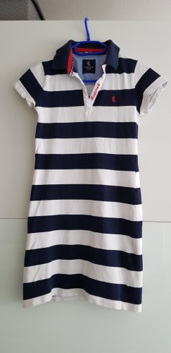 Marina Yachting Polo Dress white-dark blue