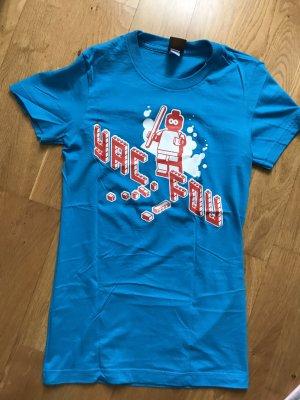 YackFou T-Shirt neon blue