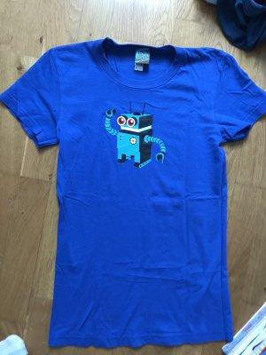 YackFou T-Shirt blue-neon blue