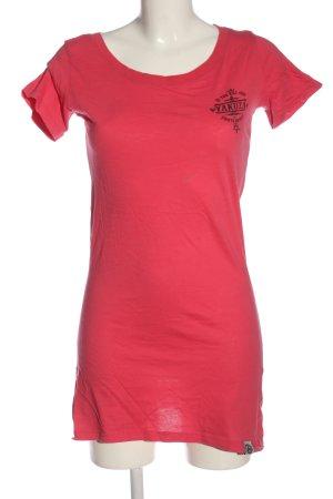 Yakuza T-shirt rosso-nero stile casual