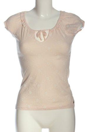 Yakuza T-shirt color carne stampa integrale stile casual