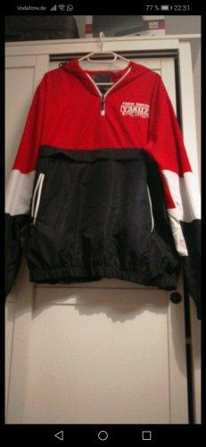 Yakuza Coupe-vent blanc-rouge