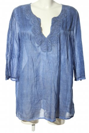 Yamamay Transparante blouse blauw casual uitstraling