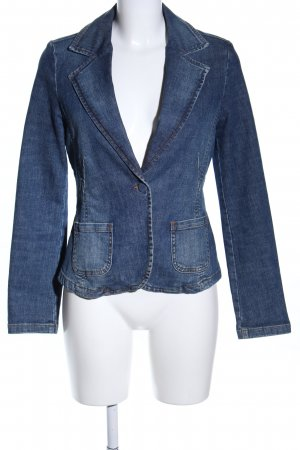 Jeansblazer blau Casual-Look
